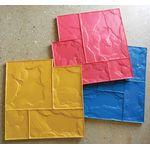 виды штампов для печатного бетона и штукатурки фото