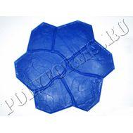 форма для печатного бетона цветок фото
